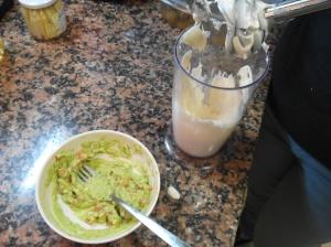 guacamole y alioli