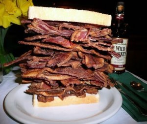bacon sandwitch